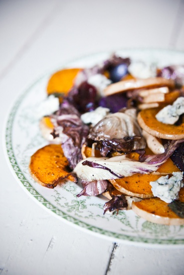 caramelized pumpkin and gorgonzola salad pear caramelized pumpkin and ...