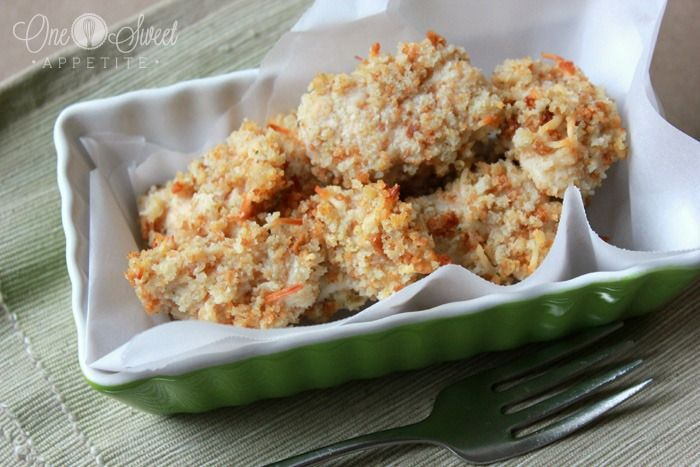 healthy baked chicken nuggets | Too Good to Eat? | Pinterest