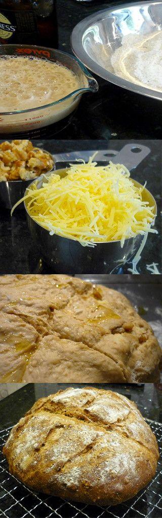 Cheese and Walnut Stout Bread | Recipes I want to try | Pinterest