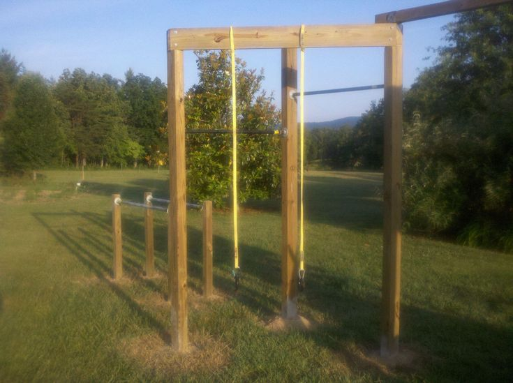 Backyard Jungle Gym Diy : Backyard gym