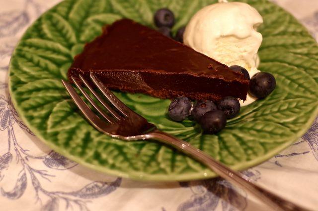 Chocolate Lavender Tart. Need I say more?