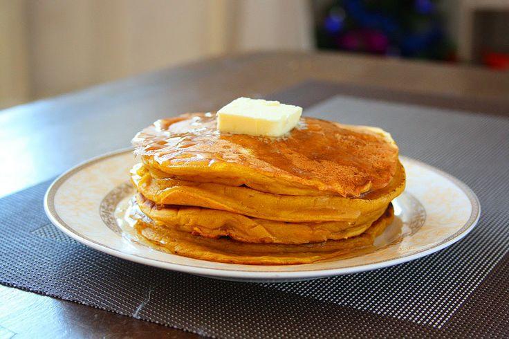 Pumpkin Pie Pancakes | Delectable Delights | Pinterest