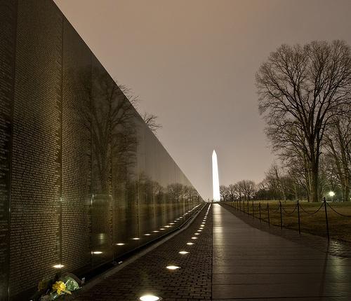 Vietnam Memorial Wall Washington DC Wanderlust Pinterest