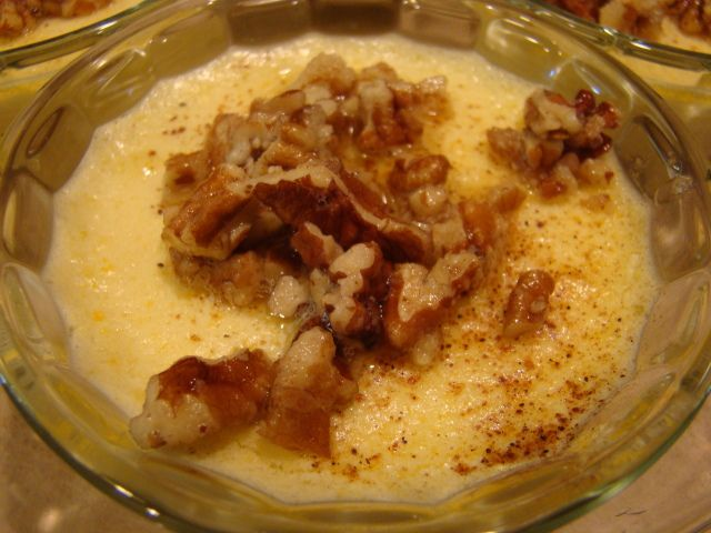 low carb Butter Pecan Creme Brulee' | Low Carb Food | Pinterest