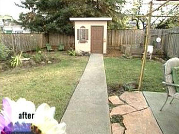 Create a faux window for your backyard shed Home garden television