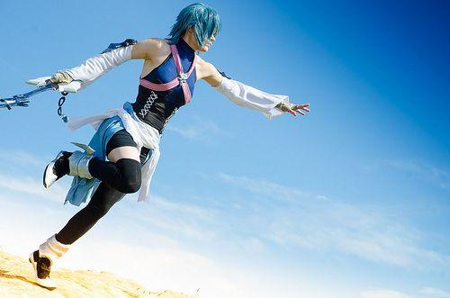 Aqua - Kingdom Hearts Cosplay Cosplays Pinterest