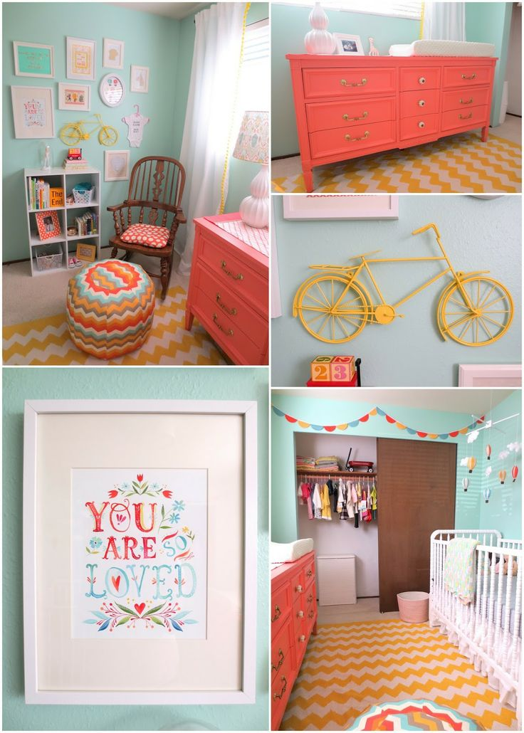 Cute Colors For Girls Room For The Home Pinterest