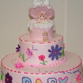 Baby Shower Custom Cakes | Porto's Bakery