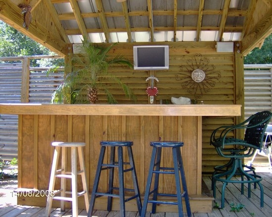 Simple design not inter in the bar pool house patio Pool house plans with bar