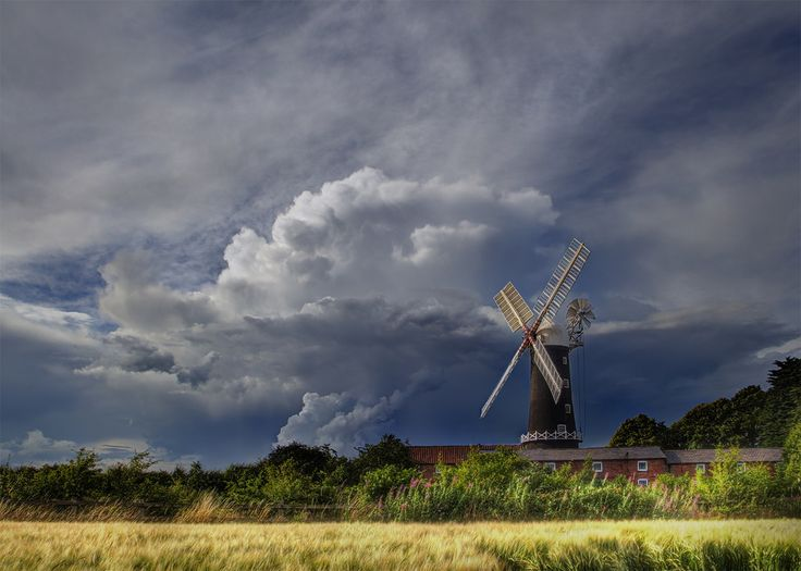 skidby summer storm | WIND POWER | Pinterest