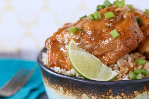 Slow Cooker Soy-Braised Chicken Recipe — Dishmaps
