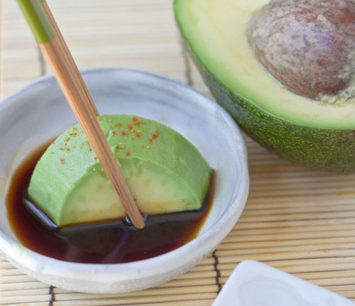 Avocado Sashimi | Yum! | Pinterest