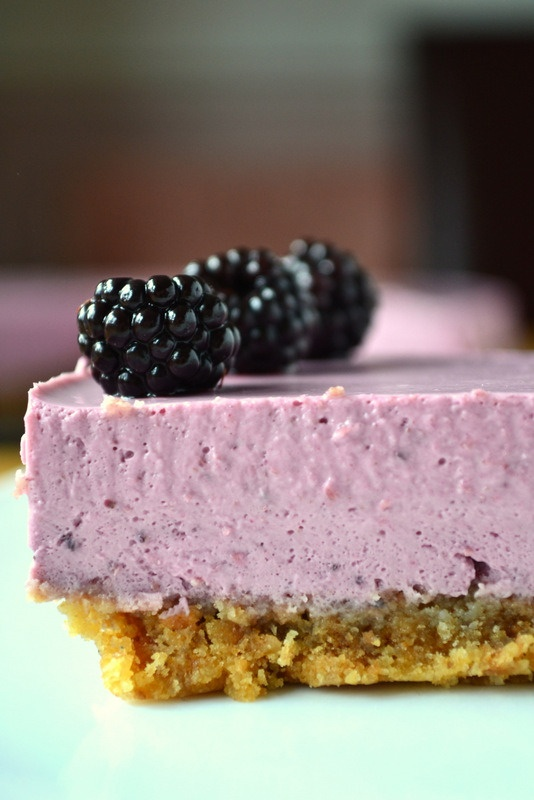 Blackberry Cheesecake | Yummmm | Pinterest