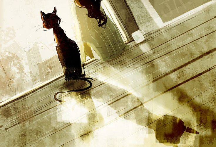 Good morning to you too Mister Snuffles. by PascalCampion.deviantart.com on @deviantART