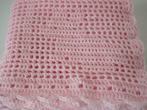 Baby Blanket Baby Afghan Baby Girl Baby Boy by AfghansForBabies, $55 ...: pinterest.com/pin/572942383816671777