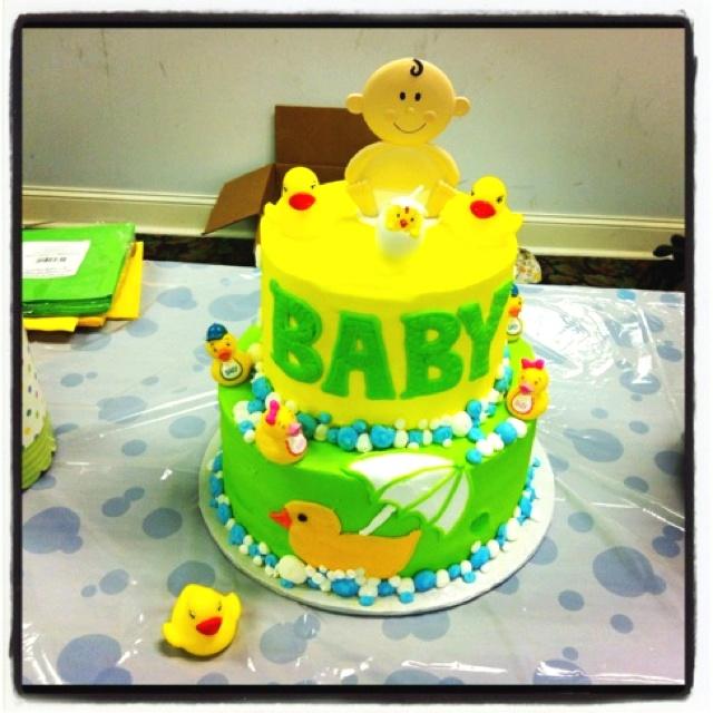 baby shower cake duck frog theme duck baby shower pinterest