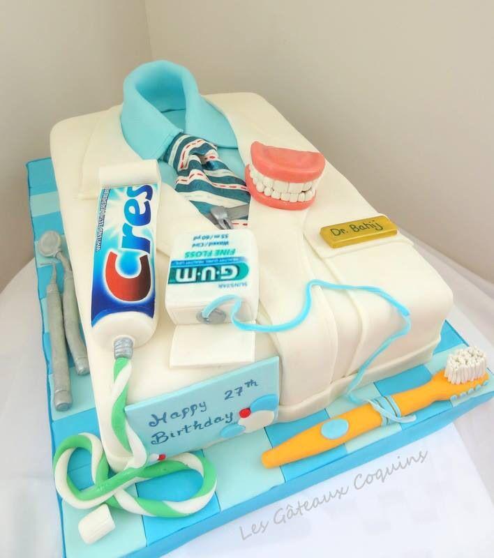 Cake Design Dentista : Dentist cake Dentist in me... Pinterest