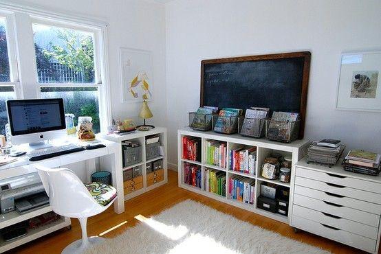 Home Office Storage Idea Craft Room Ideas Pinterest