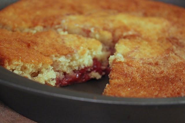 : Roasted Balsamic Strawberry Buttermilk Cake . . . light buttermilk ...