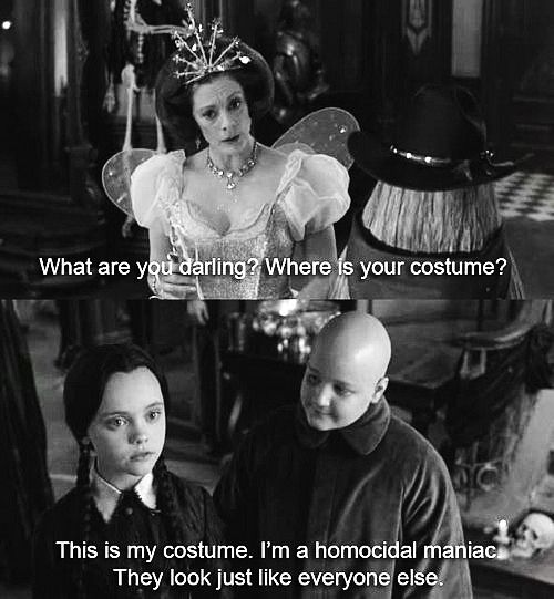 From Wednesday Addams Quotes. QuotesGram
