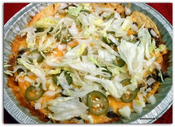 Double Layered Chili Nachos | Food | Pinterest
