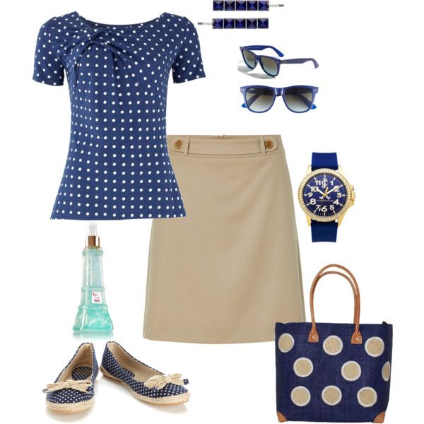 """navy"" by leslie-hall on Polyvore"