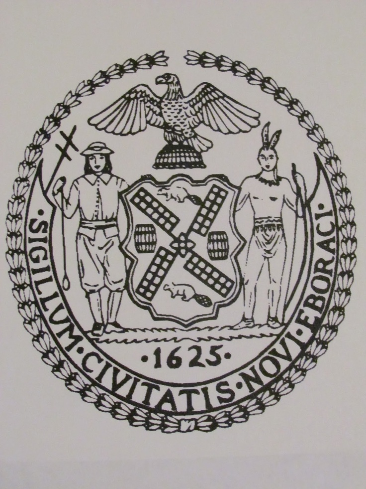 State seal of new york poc pinterest for New york state architect stamp