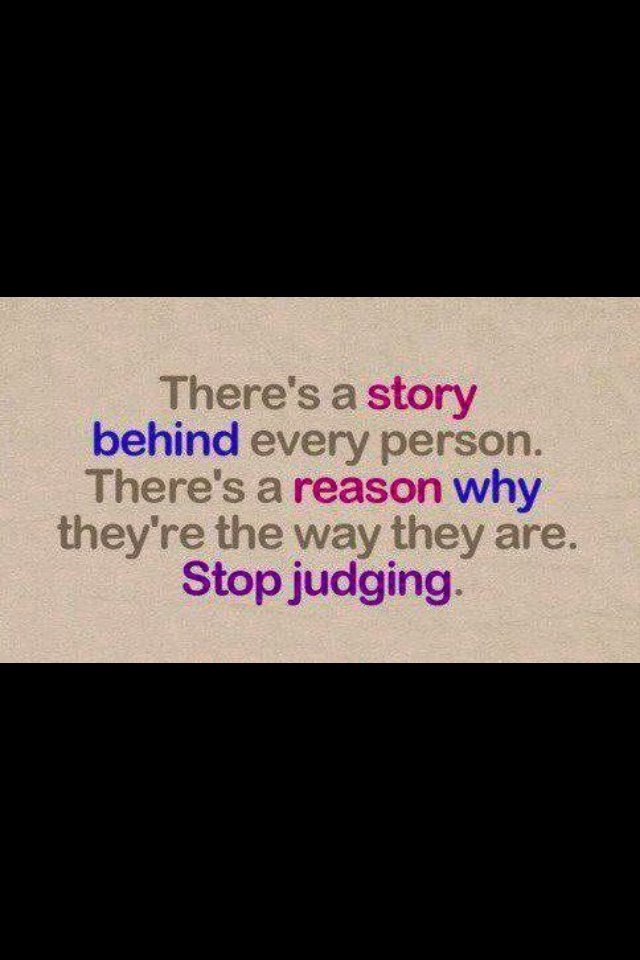 Stop Judging Me Quotes. QuotesGram