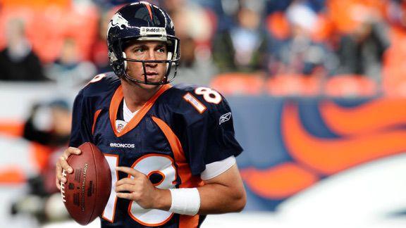 Peyton Manning is a Bronco