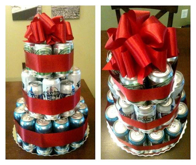 Happy birthday craft beer cake - photo#23