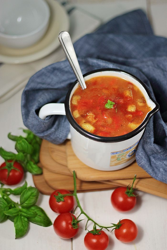Tomato and Roasted Red Pepper Soup | Soup's On! | Pinterest