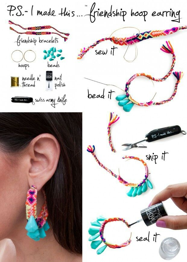 Diy fashion earrings diy fashion pinterest