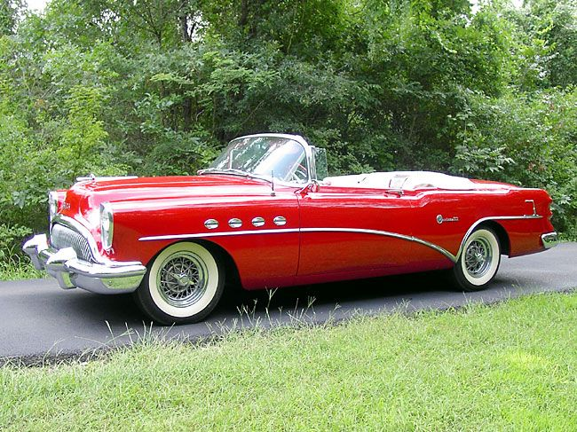 1954 Buick Roadmaster Related Infomation Specifications