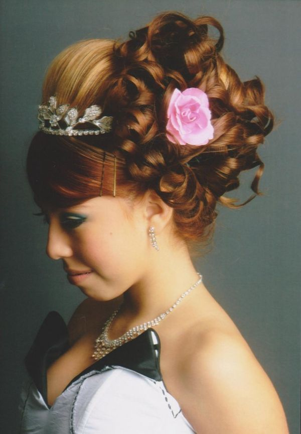hairstyles for tea party : hair style hairstyles Sweet 15 ideas Pinterest