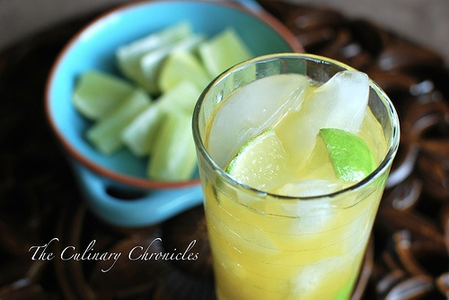 Passion Fruit Caipirinha | My Liquid Foodventures | Pinterest