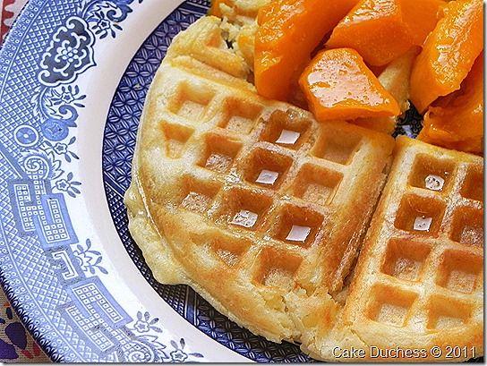 Overnight Waffles | Breakfast | Pinterest