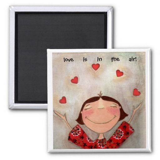 valentine photo magnets