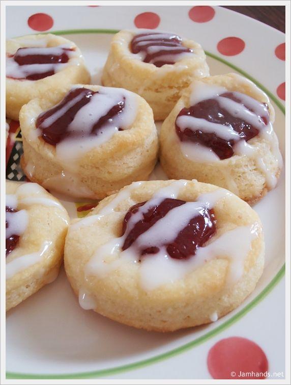 Cherry Kolacky Thumb Print Cookies | Bakery Dreams | Pinterest