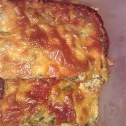 Spinach Muenster Quiche. Low carb and vegetarian. Made this yesterday ...