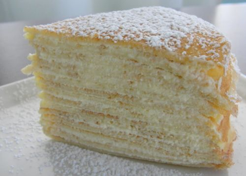 Gateau de Crepes - La Dolce Vita | Recipe | Pinterest