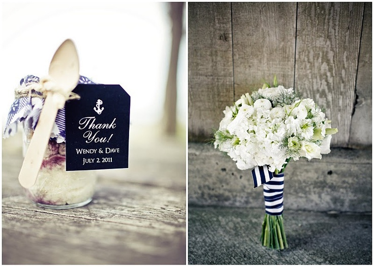 black and white ribbon & flowers