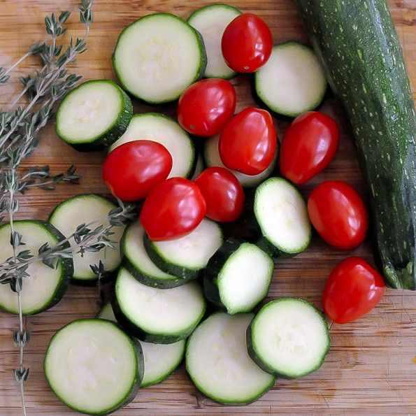 Roasted Zucchini Tomato Rice Gratin | Recipes & Kitchen Gear | Pinte ...