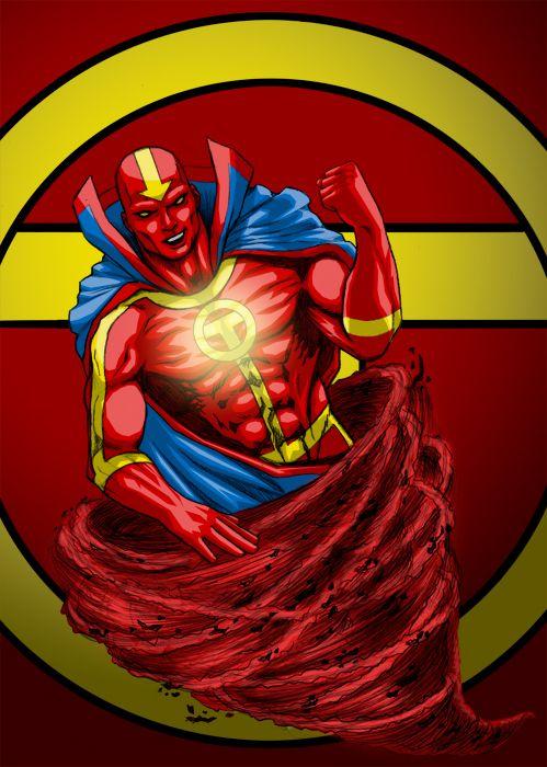 Red Tornado | Comics/Cartoons & .... | Pinterest