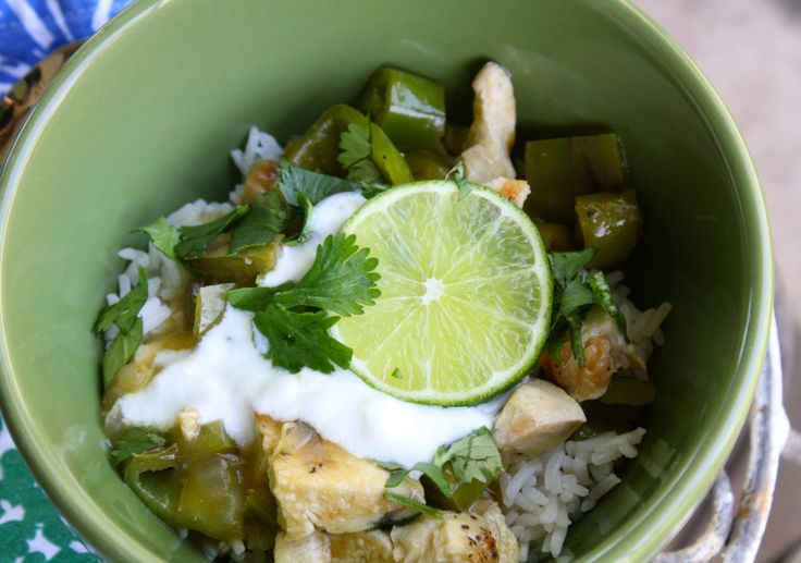 Green Chili Chicken and Lime Stew | The Yard Bird | Pinterest