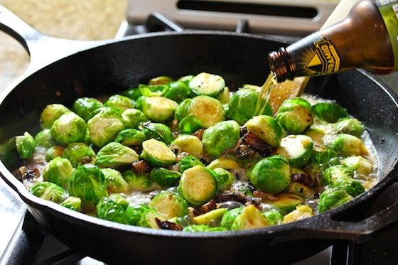 Braised Brussels Sprouts With Shallots And Parmesan Recipes ...