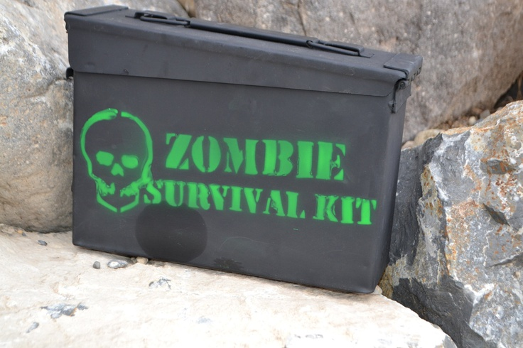 Zombie survival kit ammo can dimensions