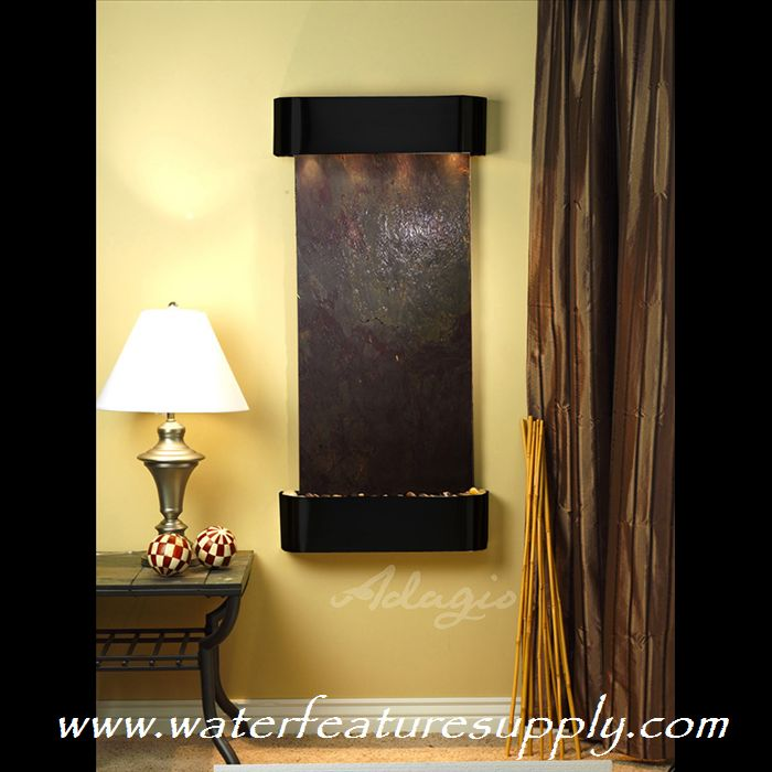 This wall fountain is perfect indoors. Please visit us at http:///www ...