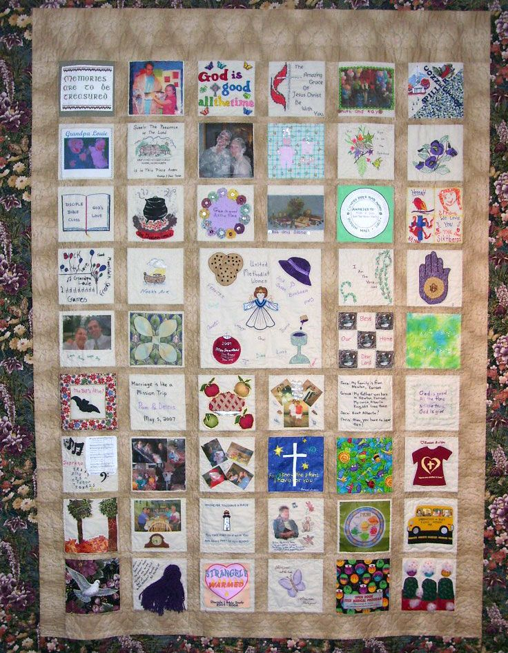 Memory Quilt Ideas memory quilts Pinterest