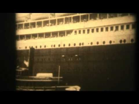 Real film footage of the Titanic