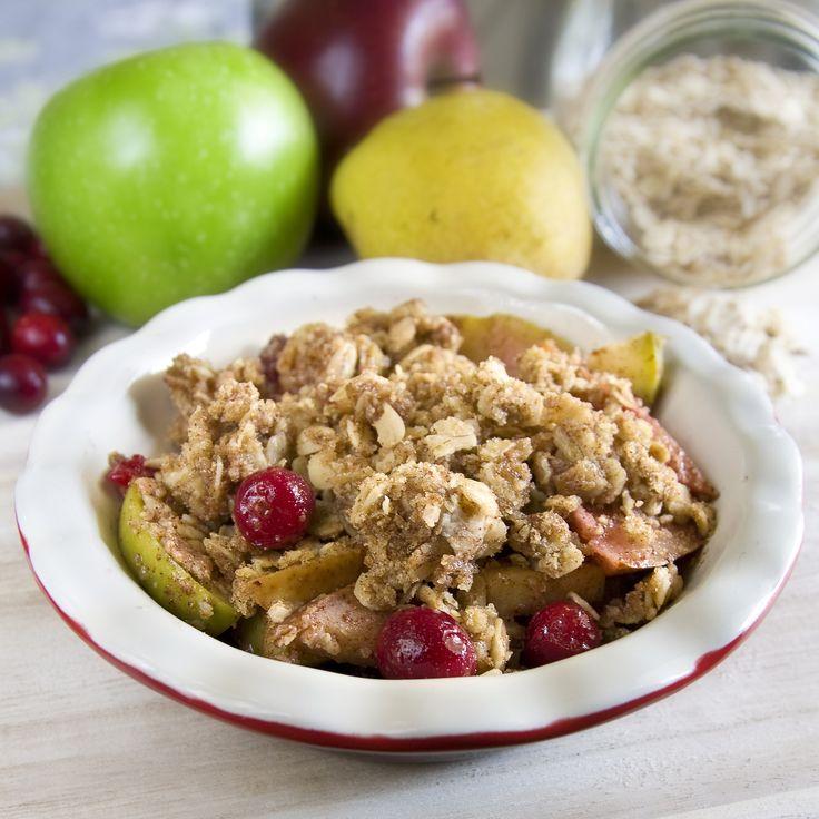 apple_pear_cranberry_crisp-3 | Baked Goods | Pinterest